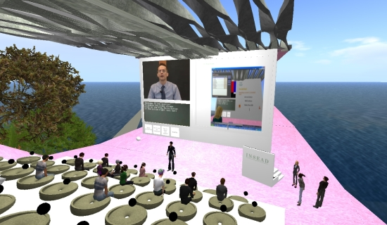 Vortrag in Second Life