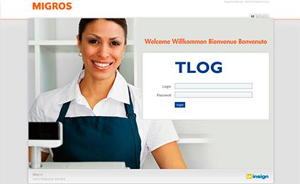 Webclient für Kassen-Daten der Migros migros.ch A