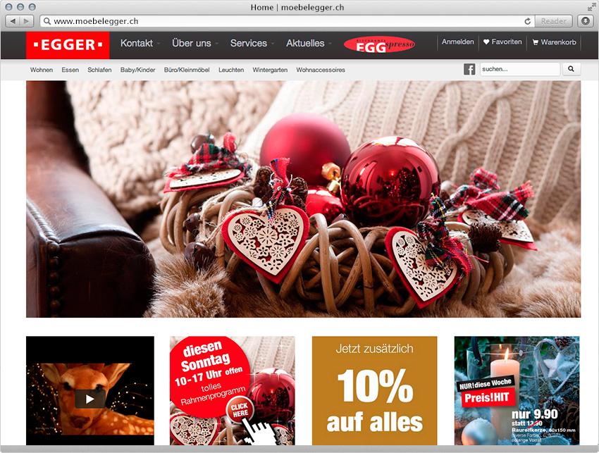 Onlineshop Für Möbel Egger Magento E Commerce Lösung Insign Gmbh