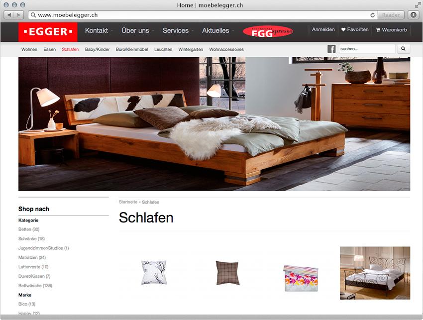Esstisch Möbel Egger ~ Onlineshop für Möbel EGGER  MagentoECommerceLösung  insign gmbh