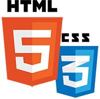 HTML5- und CSS3-Logos