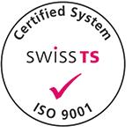 Swiss TS-Logo zu ISO 9001