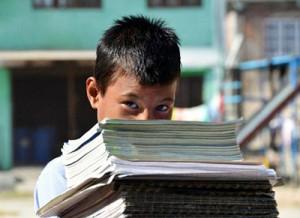 NAG Nepal, Bezug des neuen Schulgebäudes