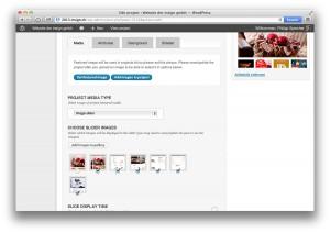 WordPress, Seiten-Attribute definieren, Backend