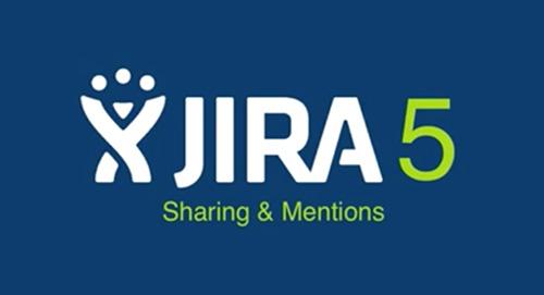 JIRA5 Sharing and Mentions