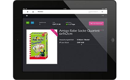Egli iPad App für Aussendienstmitarbeiter