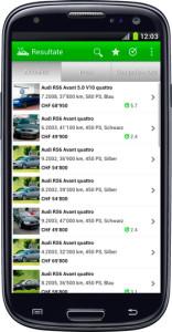 Android App Automarkt Schweiz