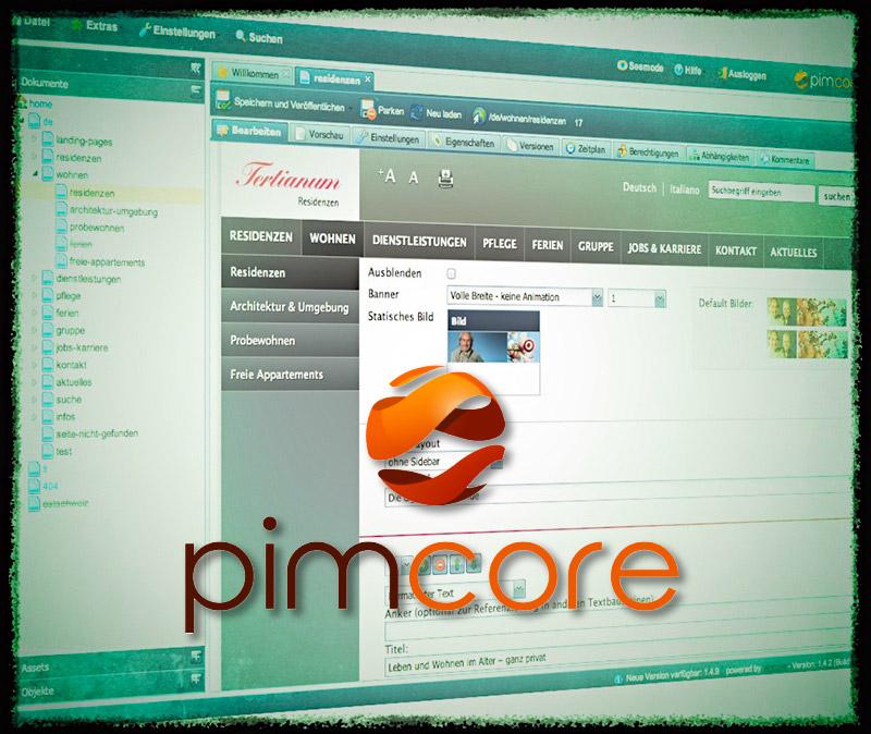 pimcore CMS