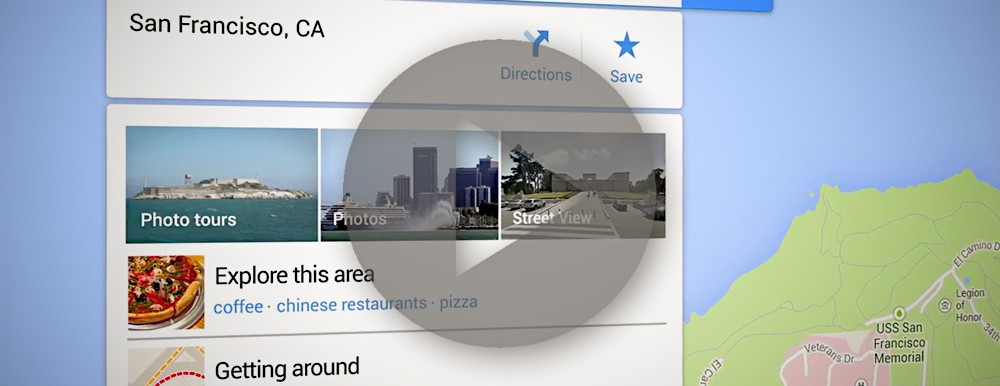 Video zu allen Neuerungen in Google Maps