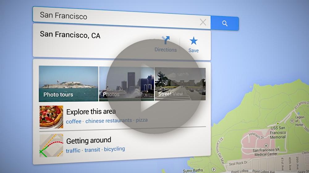 Video zu allen Neuerungen in Google Maps