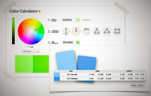Color Wheel, resp. Color Calculator