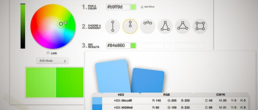 Color Wheel, resp. Color Calculator