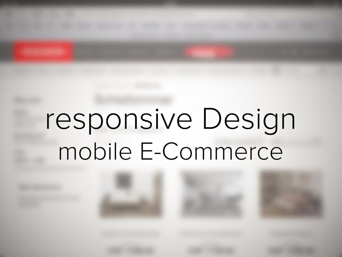 responsive Design für bessere mobile E-Commerce-Lösungen