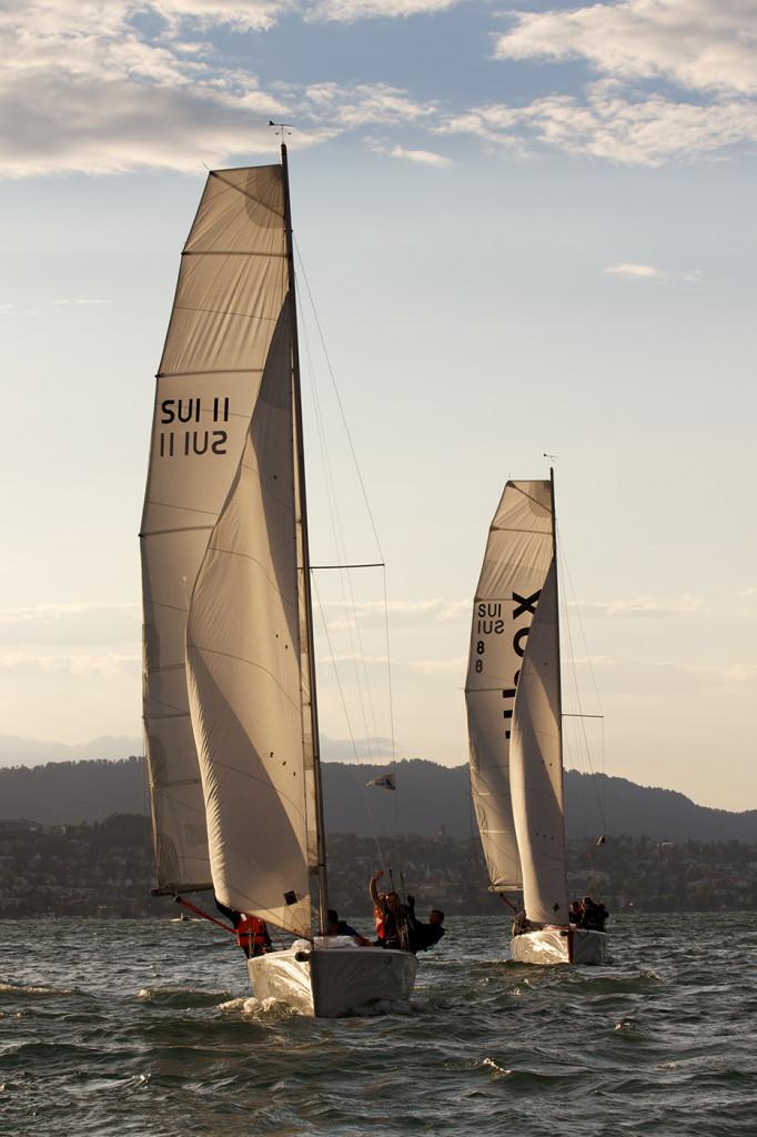 zwei Yachten vom Typ mOcean am insign Cup 2013