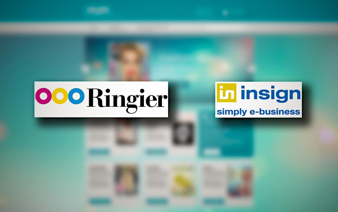 der Ringier Online-Kiosk wird von insign komplett neu entwickelt