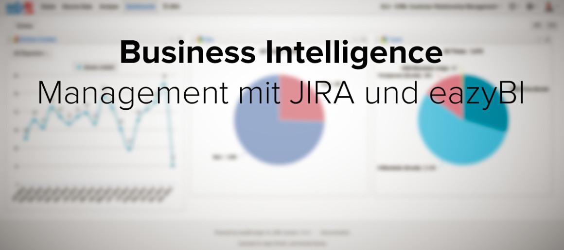 Business Intelligence mit JIRA und eazyBI bei insign