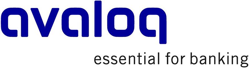 Avaloq-Logo, unser Partner im Bereich E-Banking