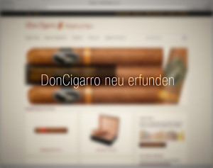Zigarren Shop DonCigarro - ein neues Magento-Webshop-Projekt der insign gmbh