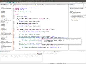Mit Eclipse machts deutlich mehr Spass als mit der Arduino IDE