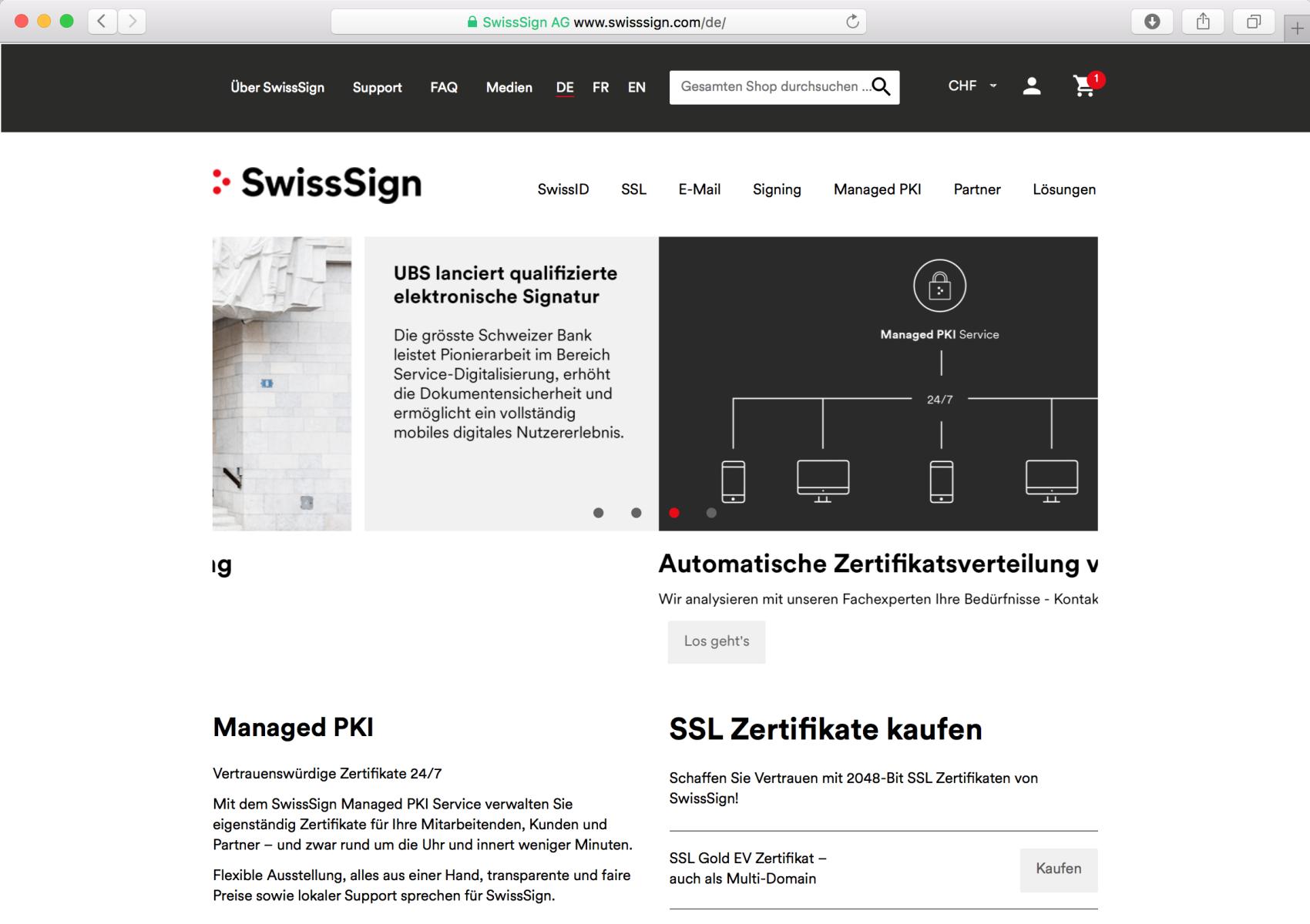 SwissSign-Home
