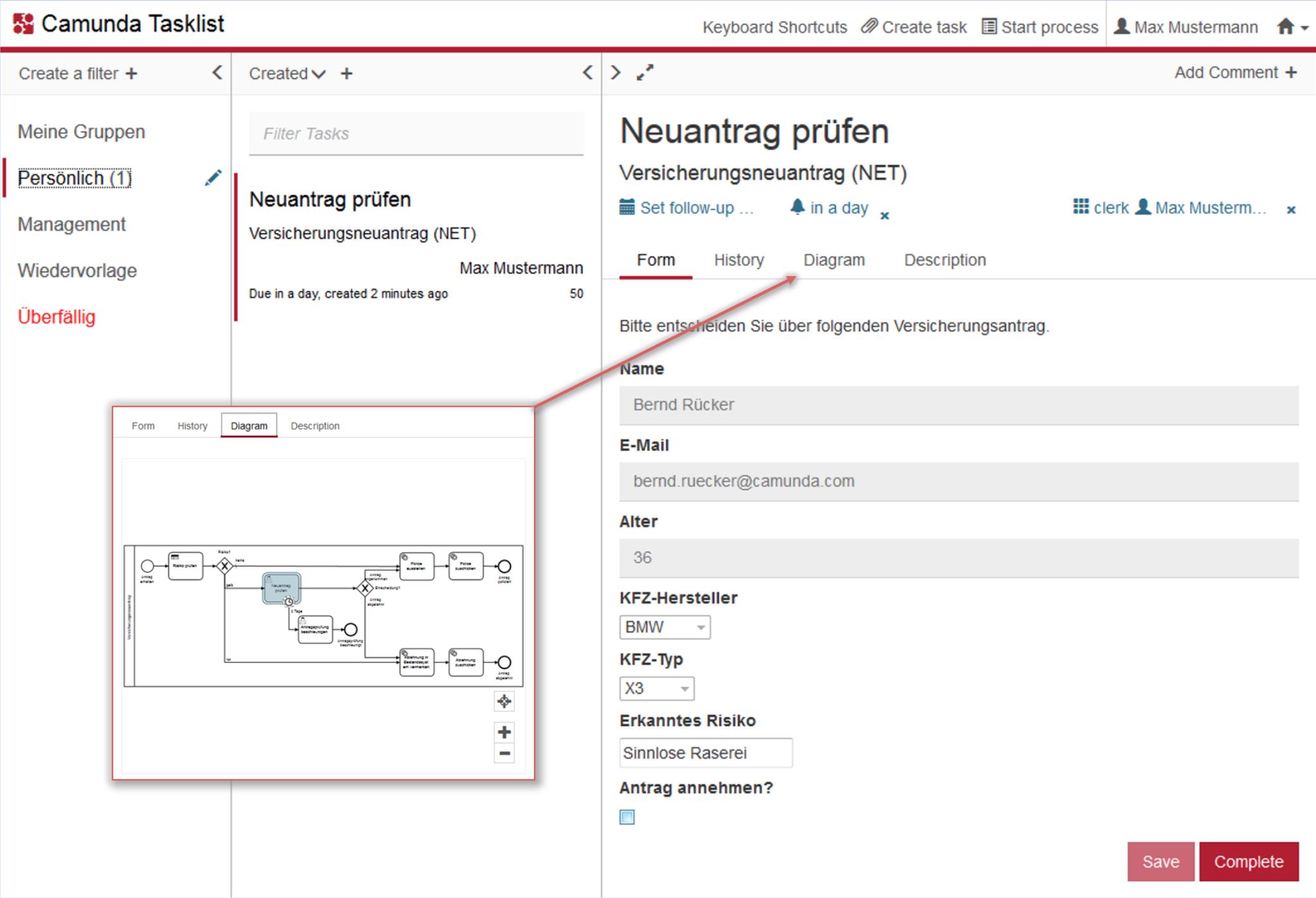 Geschäftsprozesse digitalisieren mit Camunda BPM - insign gmbh