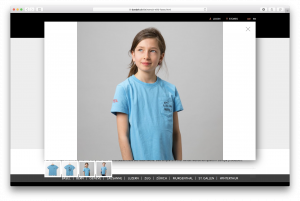 Produkt-Detailseite mit Zoom auf doodah.ch, dem Webshop der insign gmbh, basierend auf Magento Open Source v2